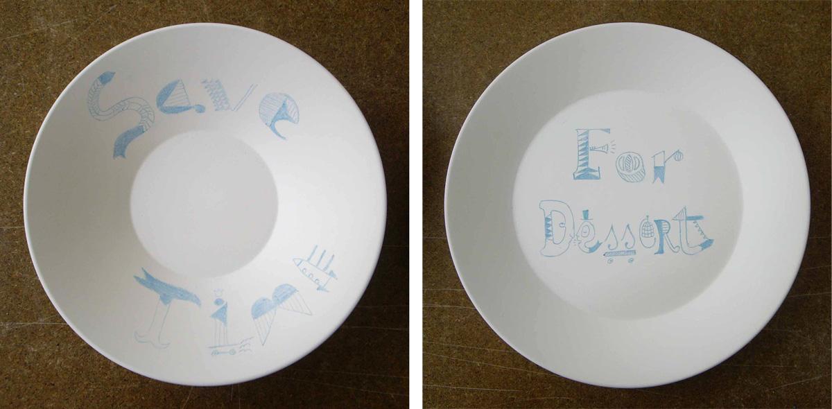 illustration sargadelos ceramic design