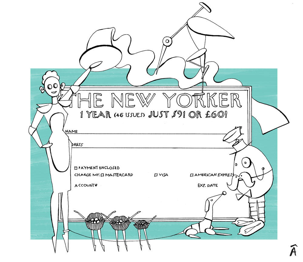 illustration new yorker editorial fashion