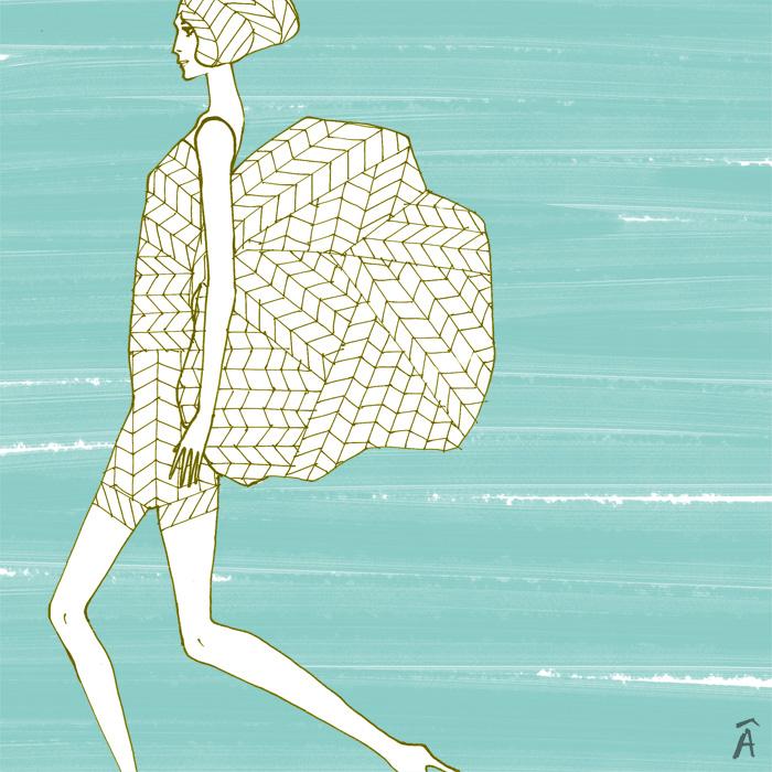 illustration louis vuitton arts decoratifs exhibition paris