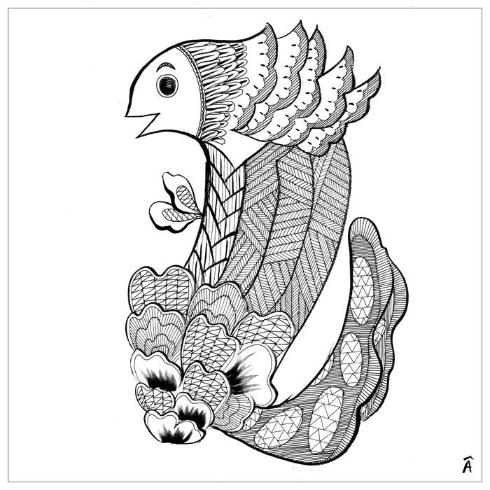 illustration fish kids