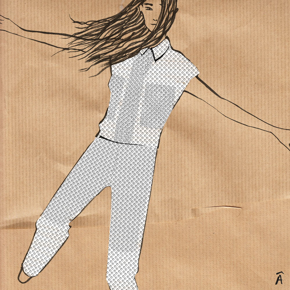 illustration stella mccartney rtw summer 2013