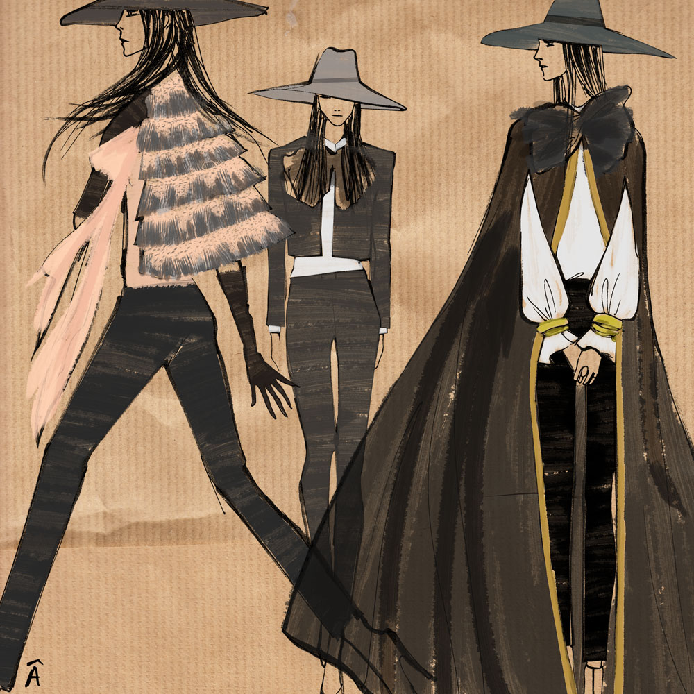 saint laurent  illustration 2013